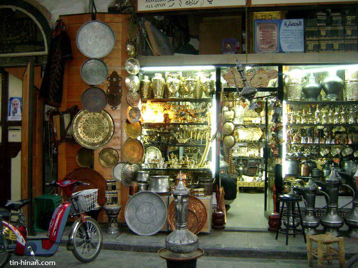 Mon voyage à Damas – Tin-Hinan
